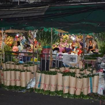 Art. 5 – Le Pak Khlong Market – marché de Bangkok