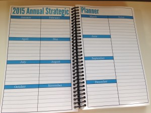 Essential Daily Planner Annual View