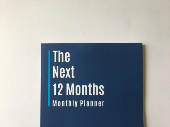 the next 12 months monthly planner