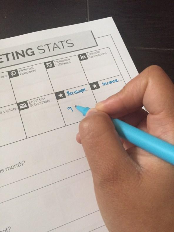 Stats tracker