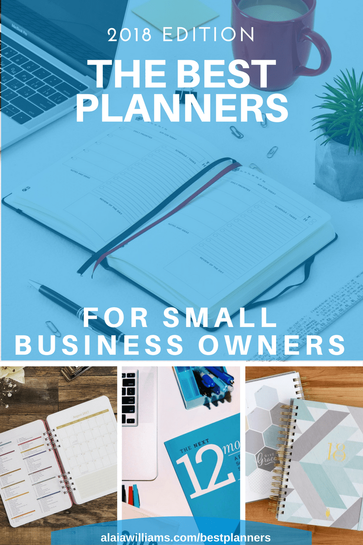 best business planners and organizers