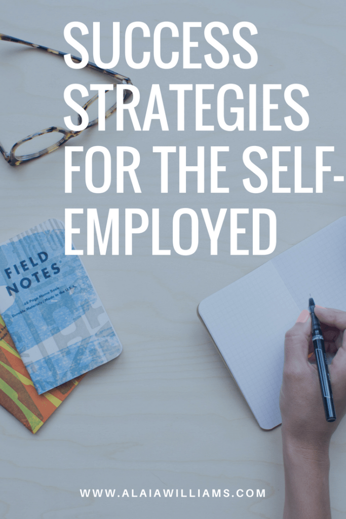 success strategies for the self-employed