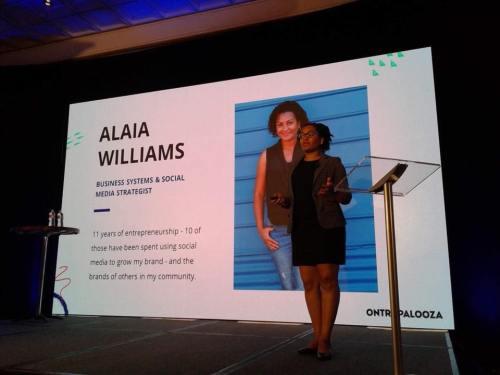 alaia williams ontrapalooza 2017