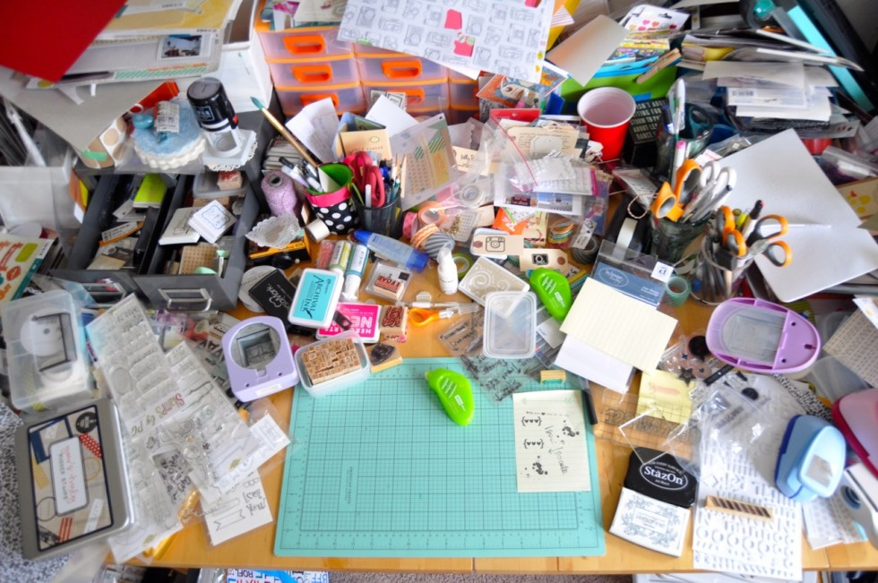 why are you keeping all the clutter?