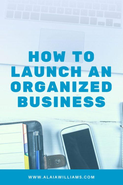 Alaia Williams on the Spark Joy Podcast - How to Launch An Organized Business