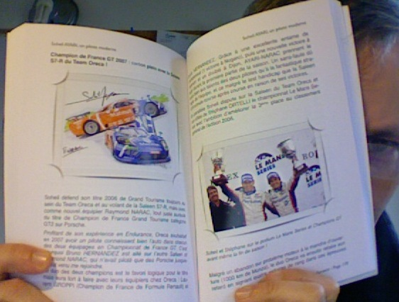 Un exemple de pages intérieures