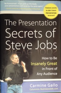Book Cover: Presentation Secrets of Steve Jobs