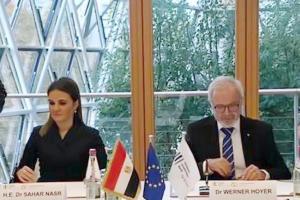 """اتفاق مع الاستثمار الأوروبى بقيمة 214 مليون يورو للمساهمة فى دعم البنية الاساسية وحل مشكلة مصرف """"كيتشنر"""