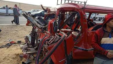 Photo of مصرع 3 أشخاص وإصابة آخر في حادث أليم على طريق الفيوم
