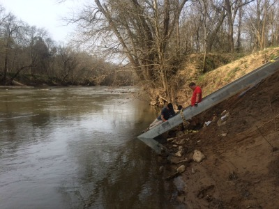 Union Bridge Paddle Access Completes the Haw River Paddle