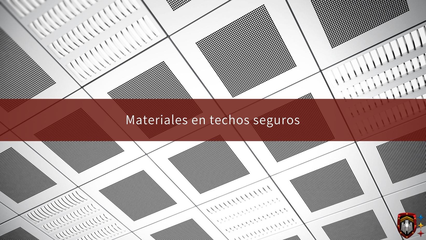 Materiales en techos seguros  Alambres y Refuerzos DAC