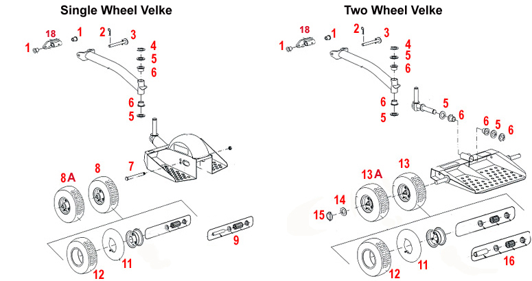 Velke Parts Parts and accessories. large selection fast