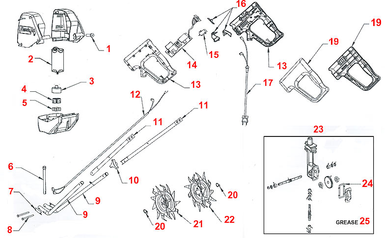 Nice Mantis Tiller Parts Diagram Pictures # Tiller Parts
