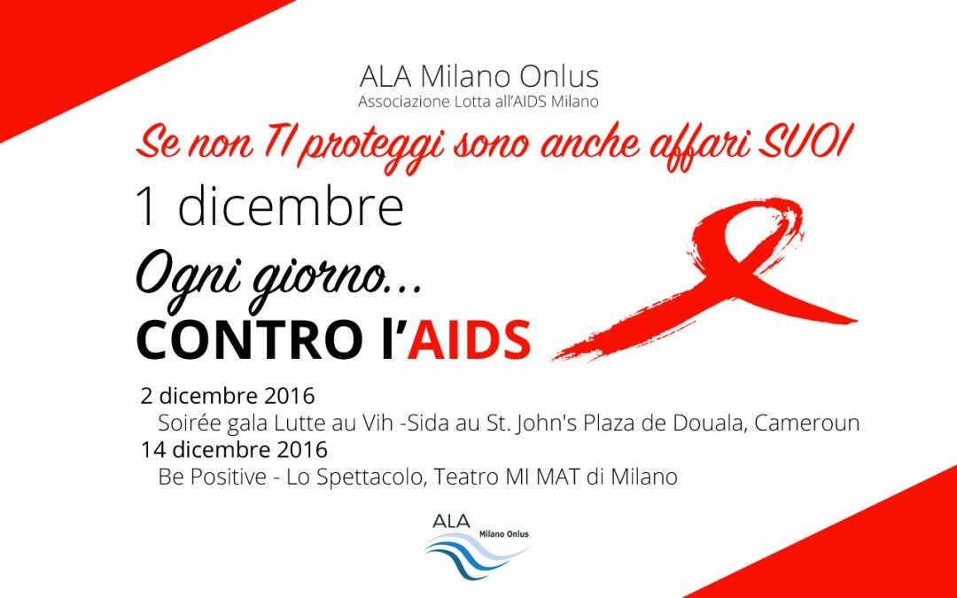 1 dicembre 2016 – Giornata Mondiale Lotta all'AIDS