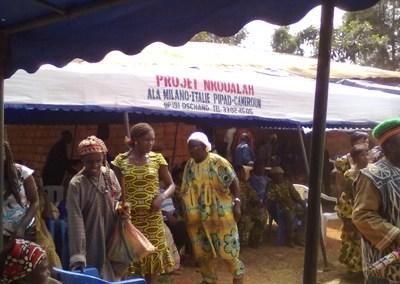 Nkoualah Sviluppo di comunità co-sviluppo e prevenzione HIV/AIDS – MST, nella città di Dschang, Cameroun