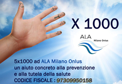 5x1000 ALA Milano Onlus