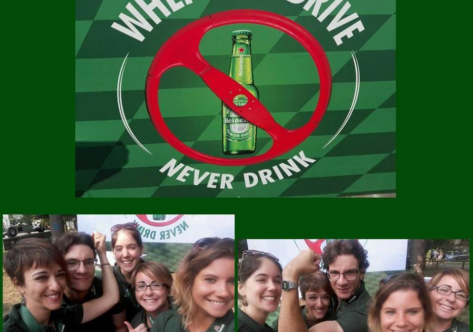 Un messaggio chiaro e inequivocabile: se ci si mette al volante, l'unica scelta possibile è quella di non bere.