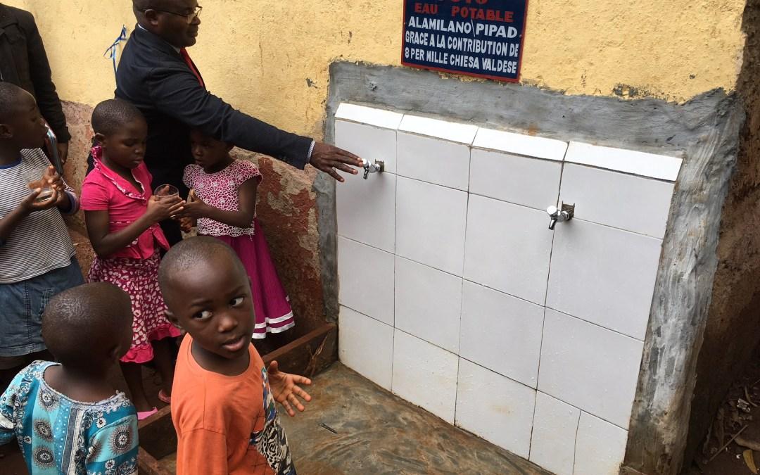 Acqua potabile in 3 scuole pubbliche in Cameroun