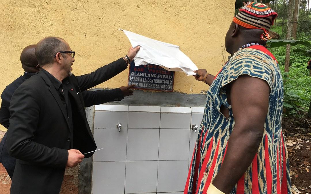 Progetto acqua in Cameroun, grazie al prezioso contributo della chiesa valdese otto per mille