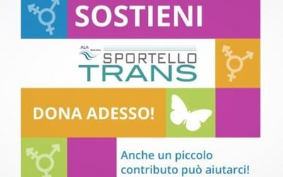 È online la raccolta fondi per la non chiusura definitiva dello Sportello Trans di Ala Milano Onlus.