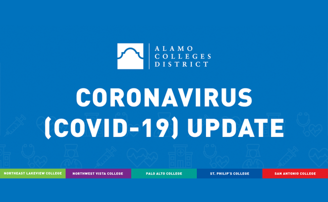 2019 Novel Coronavirus Covid 19 Update Alamo Colleges
