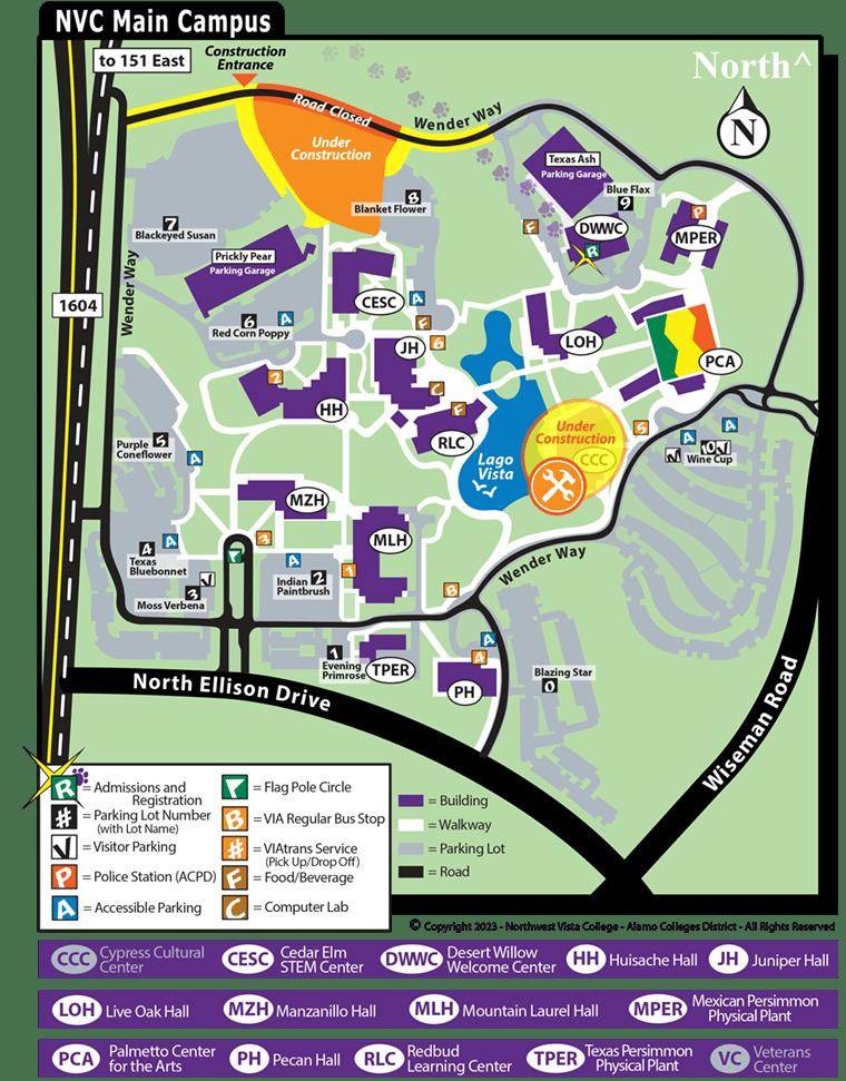 Maps  Alamo Colleges