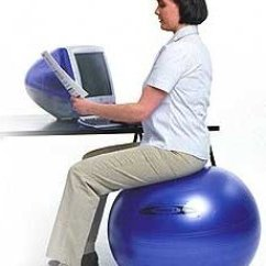 Office Chair Workouts For Abs Tall Director Chairs 10 Reasons To Use An Exercise Ball As Your Gearfire Tips Image