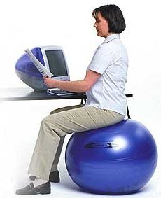 chair gym parts wheelchair murah 10 reasons to use an exercise ball as your gearfire tips image