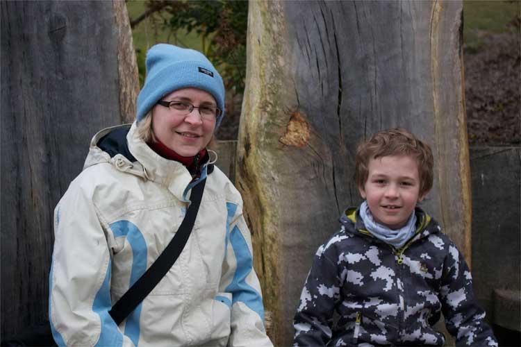 Anna and Morgan