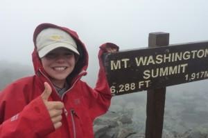 Mike Moniz on Mt-Washington
