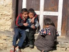 Children in the Khumbu