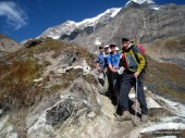 The Team on the Trek Out