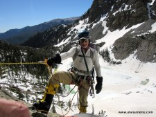 K2 training on Rocky Mountain National park