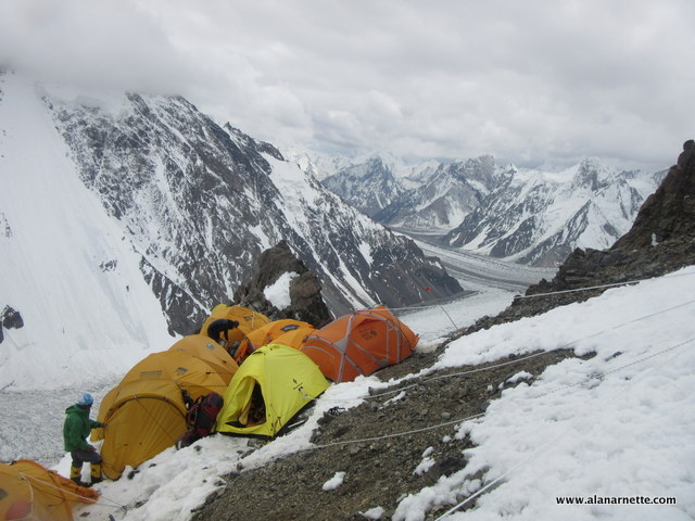 Camp 1 K2