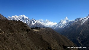 Everest, Lhotse, Ama Dablam April 6, 2015