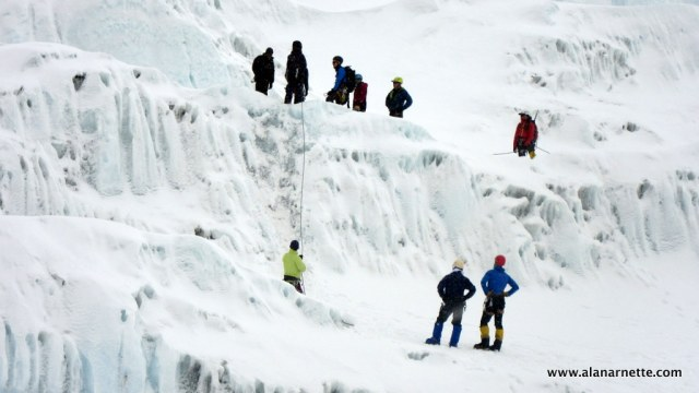 Training for the Icefall