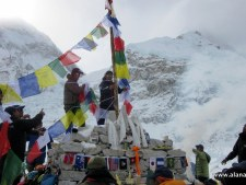 Puja at Everest 2015