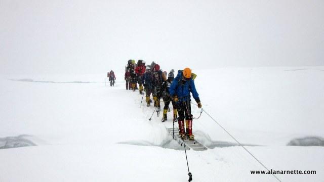 Western Cwm - Everest 2015