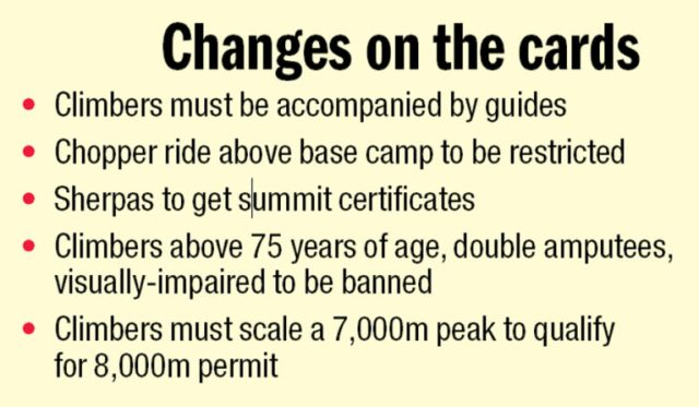 2016 Everest New Rules