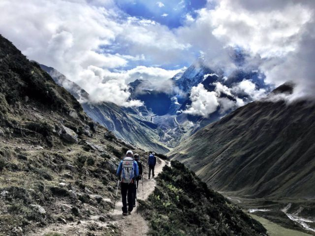 Trekking to Manaslu. Courtesy of Benegas Brothers Expeditions