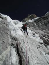 Climbing the Yellow Tower on Ama Dablam in 2000