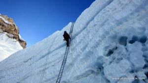 Top of Khumbu Icefall in 2016