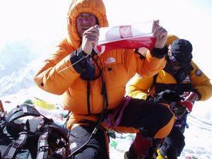 Janusz Adamski on Everest 2017