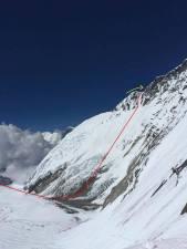 Nobukazu Kuriki Climb to West Ridge