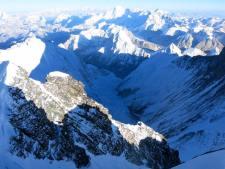 Western Cwm from Lhotse summit by Al Hancock