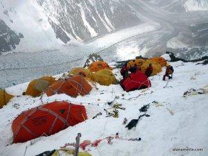 K2 Camp 2: 22,110'/6700m