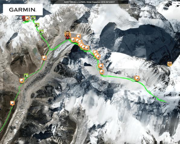 Txikon Winter Everest 31 Jan 18