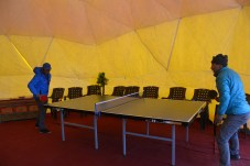 Play tent. Courtesy of Kari Kobler