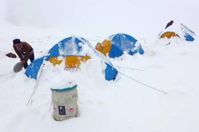 Gasherbrum Base Camp 2018 by David Klein