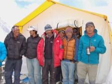 Virtual Everest 2020: Sherpas at C2